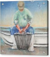 The Oysterman Acrylic Print