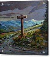 The Paintbrush Trail, Manning Provincial Park, B C Acrylic Print