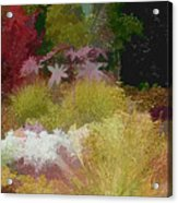 The Painted Garden Acrylic Print