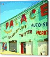 The Palace At Asbury Park Acrylic Print