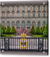 The Palace Courtyard Acrylic Print