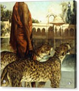 The Palace Guard With Two Leopards Acrylic Print