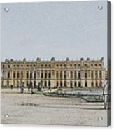 The Palace of Versailles Acrylic Print