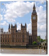 The Palace Of Westminster Acrylic Print