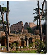 The Palatino At Dusk Acrylic Print