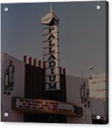 The Palladium Acrylic Print