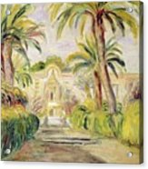 The Palm Trees Acrylic Print