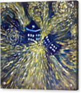 The Pandorica Opens Acrylic Print by Alizey Khan
