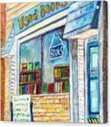 The Paperbacks Plus Book Store St Paul Minnesota Acrylic Print
