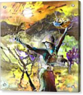 The Parable Of The Sower Acrylic Print by Miki De Goodaboom