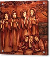 The Parable Of The Ten Virgins Acrylic Print