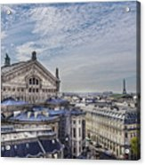 The Paris Opera 5 Art Acrylic Print