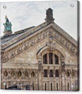 The Paris Opera Art Acrylic Print