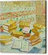The Parisian Novels Or The Yellow Books Acrylic Print