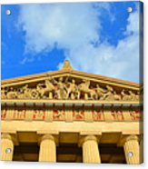The Parthenon In Nashville Tennessee 2 Acrylic Print