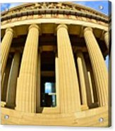 The Parthenon In Nashville Tennessee 3 Acrylic Print