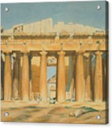 The Parthenon Acrylic Print by Louis Dupre