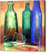 The Party's Over Acrylic Print