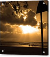 The Pass Byron Bay Acrylic Print