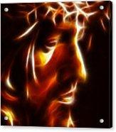 The Passion Of Christ Acrylic Print by Pamela Johnson