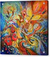 The Passion Of Ultramarine Acrylic Print