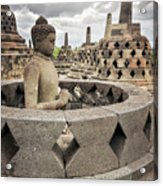 The Path Of The Buddha #4 Acrylic Print