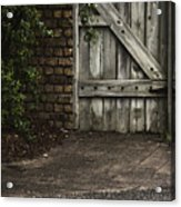 The Path To The Doorway Acrylic Print