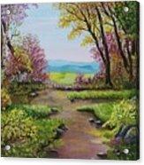 The Pathway To Heaven Acrylic Print