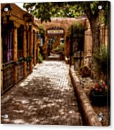 The Patio Market Acrylic Print