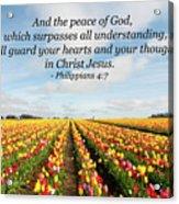 The Peace Of God Acrylic Print
