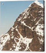 The Summit Of Mount Denali 19,000 Feet  Acrylic Print