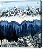 The Peaks  Acrylic Print