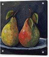 The Pears  Acrylic Print