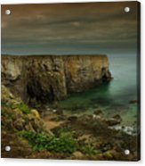 The Pembrokeshire Cliffs Acrylic Print