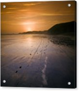 The Pembrokeshire Sunset Acrylic Print