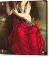 The Penitent Magdalen Acrylic Print
