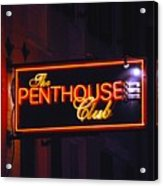The Penthouse Acrylic Print