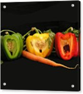 The Pepper Trio Acrylic Print