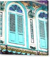 The Peranakan Building  Acrylic Print