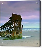 The Peter Iredale Acrylic Print