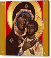 The Petrovskya Icon Of The Mother Of God 128 Acrylic Print