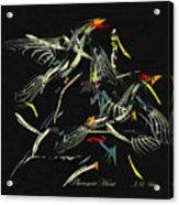 The Pheasant Hunt Acrylic Print
