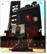 The Phillies - Steve Carlton Acrylic Print