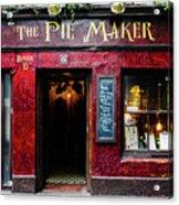 The Pie Maker Acrylic Print