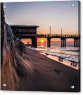 The Pier 2 Acrylic Print by Kim Loftis