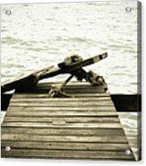 An Old Pier Acrylic Print