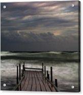 The Pier...ayia Napa Acrylic Print