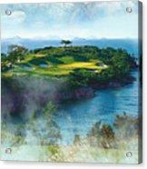 The Pine And Beach Links Acrylic Print