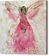 The Pink Angel  Acrylic Print
