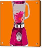 The Pink Blender Acrylic Print